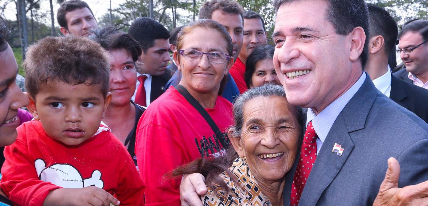 Horacio Cartes, President of Paraguay