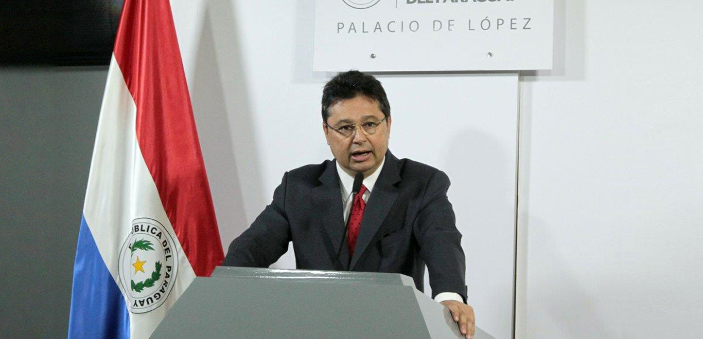 Gustavo Leite, Minister of Trade & Industry, Paraguay