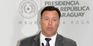 Ramón Jiménez Gaona, Paraguay's Minister of Public Works and Communications