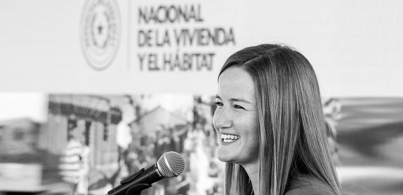 Soledad Núñez, Paraguay's Minister for Housing