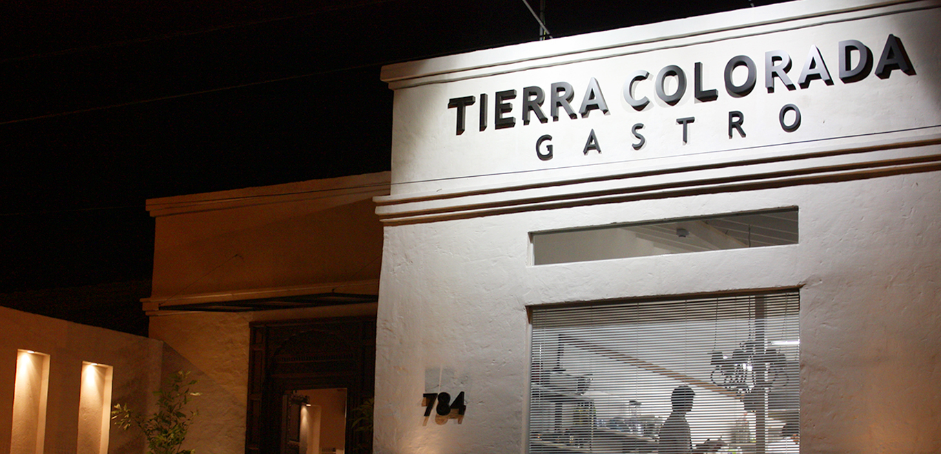 tierra colorada Rodolfo Angenscheid's restaurant