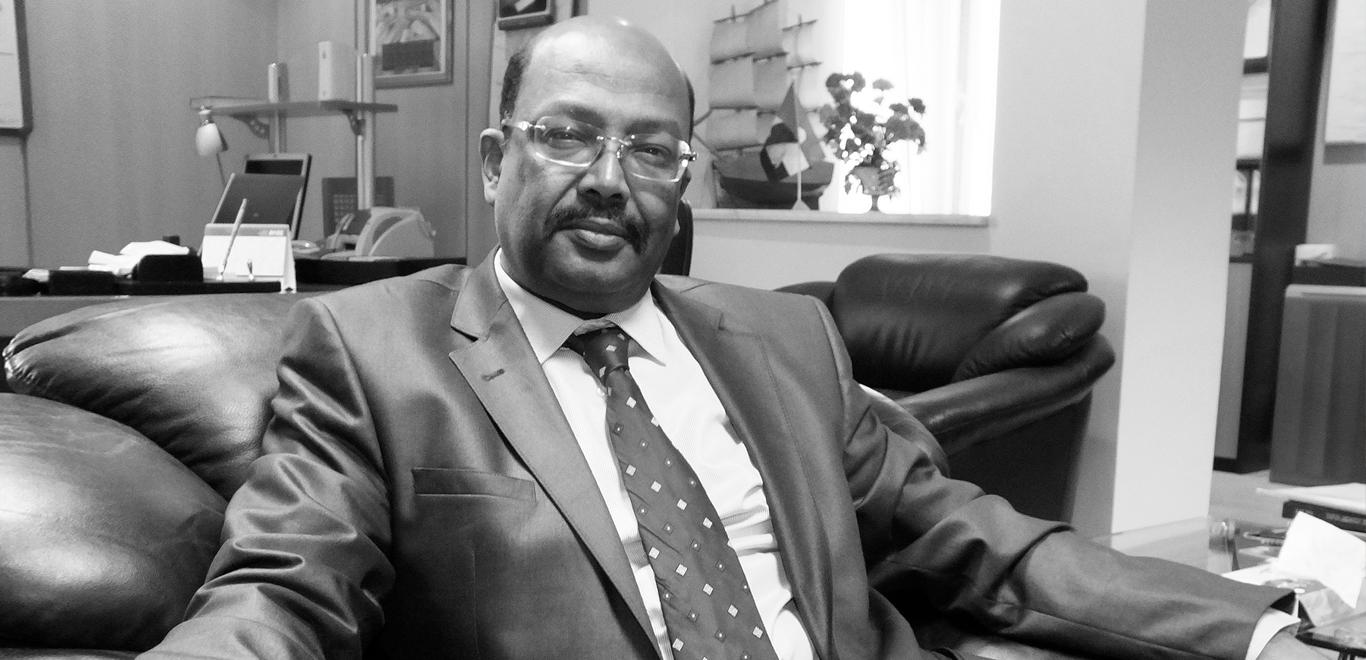 General Manager Nasr Eldin Elhussein, ariab mining company