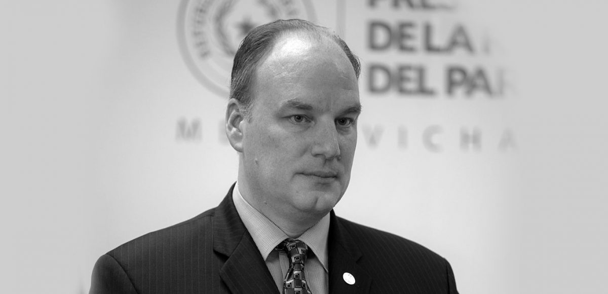 James Spalding Managing Director for Itaipu Binacional Paraguay