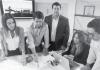 Javier Giménez CEO & Melissa Lombardo Sales Manager ofALMASOL BTS