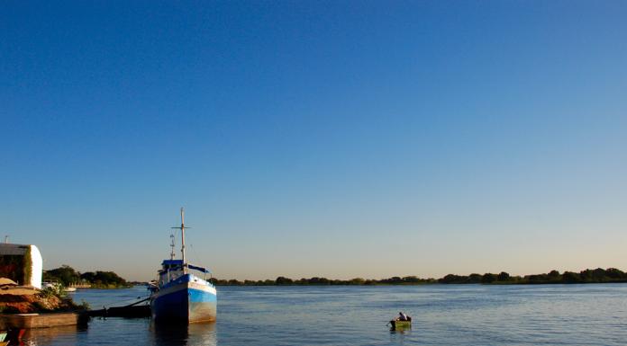 Paraguay waterway river