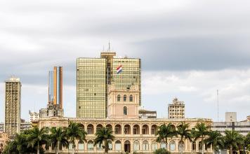 Presidential Palace in Asunción