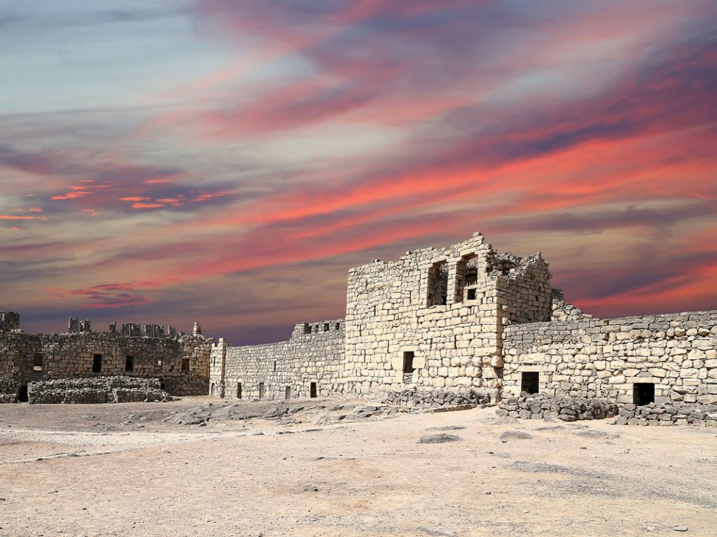 Qasr-al Azraq's castle