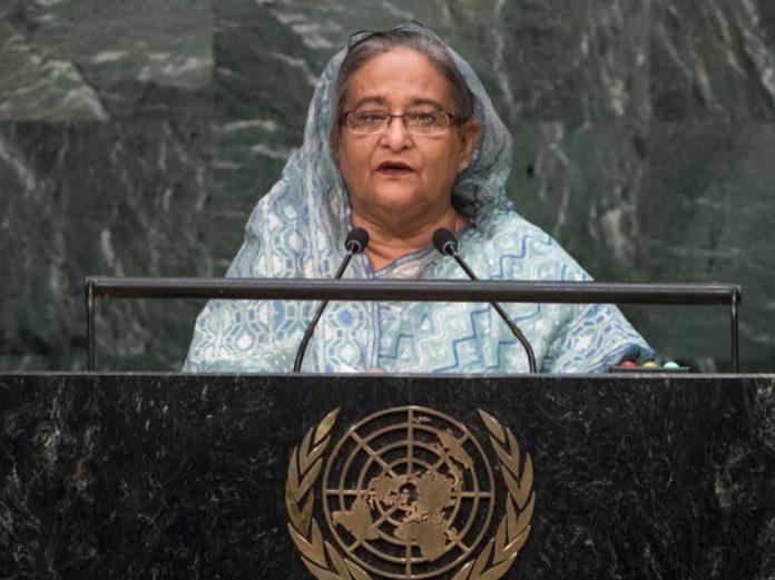 Prime minister Sheikh Hasina, Bagladesh